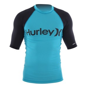 Lycra HURLEY junior Only & Only Cyan S/S Rashguard XL