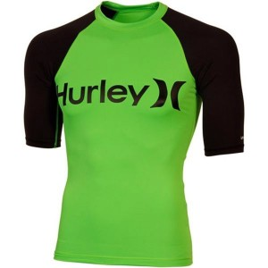 Lycra HURLEY Only & Only Neon S/S Rashguard