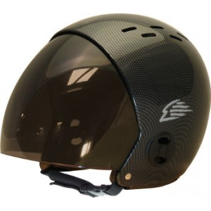 Casque GATH Visière Retractable Aspect Carbone