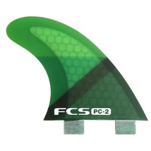 Aileron FCS PC-2 Green Slice Tri Set