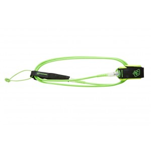 Leash 5' CREATURES OF LEISURE Lite Lime Clear