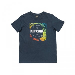 Tee Shirt RIP CURL Color Flowers SS Tee