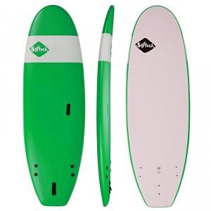 "Surf Mousse SOFTECH Handshaped Fat Boy 8'0"" apple green"
