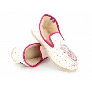 Charentaise Rondinaud ALL IN Flamingo Print/Pink
