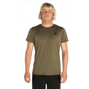 Tee-shirt anti-UV RIP CURL Search Surflite UV MILATARY GREEN