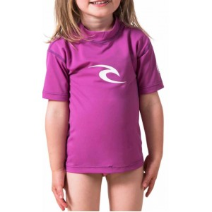 Tee-shirt anti-UV RIP CURL Enfant Corpo Purple