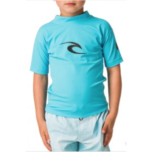 Tee-shirt anti-UV RIP CURL Enfant Corpo Blue