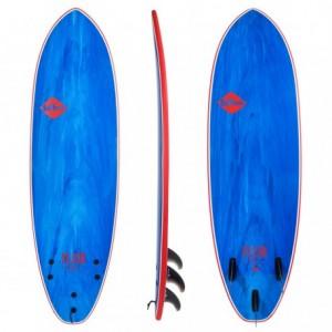 "Surf Mousse SOFTECH 6'6"" Eric Geiselman FCS II Blue Marble"