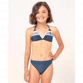Maillot de bain Rip Curl Triangle Golden Junior Fille Bleu