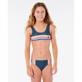 Maillot de bain Rip Curl Golden State Bikini Junior Fille Bleu