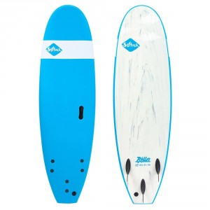 """Surf Mousse SOFTECH Roller 7'6"""" Ice Blue"""