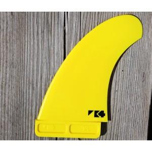 Aileron K4 FINS Stubby Rear Slot Box Twin Fins