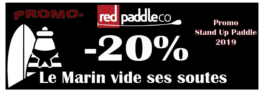 Promo Sup red paddle 2019