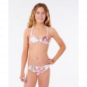 Maillot de bain Rip Curl Tallows Bikini Junior Fille Blanc